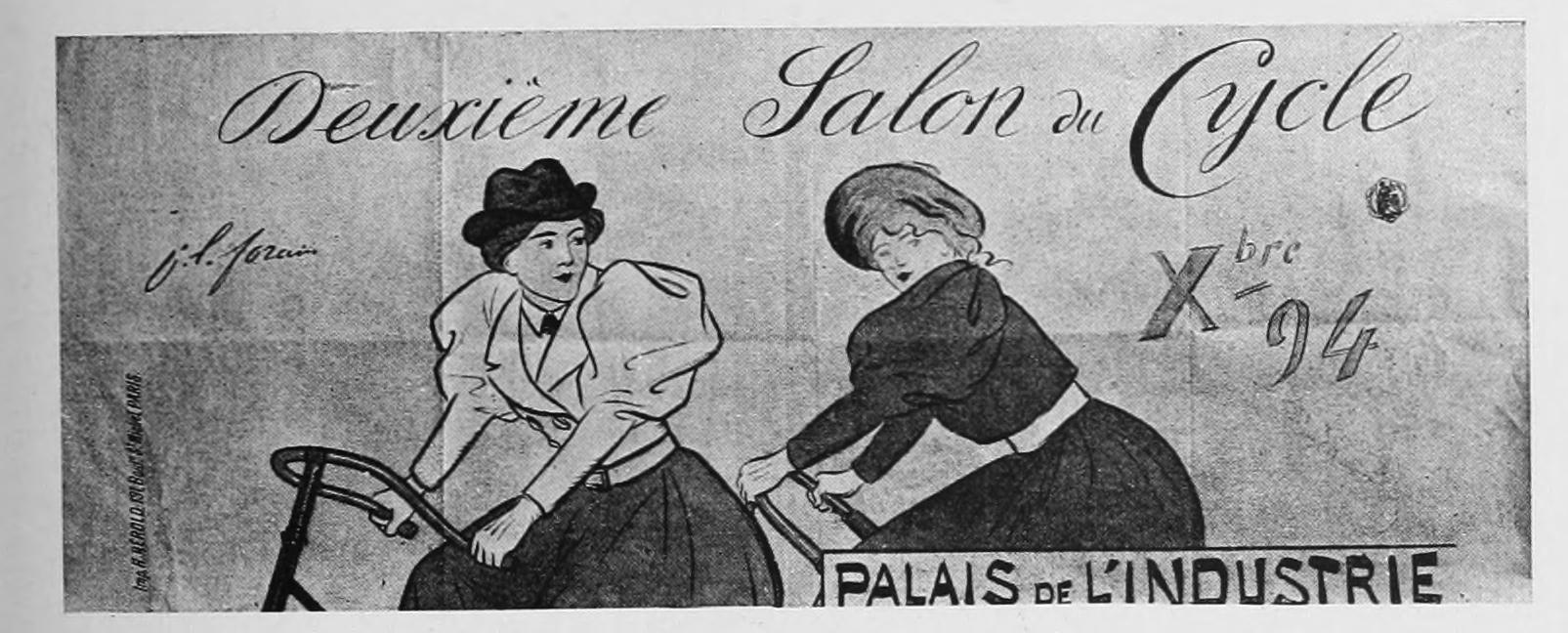 Les affiches illustrées (1886-1895) Ouvrage orné de 64 [i.e. 72] lithographies en couleur et de cent deux reproductions en noir et en couleur d'après les affiches originales des meilleurs artistes (1896)