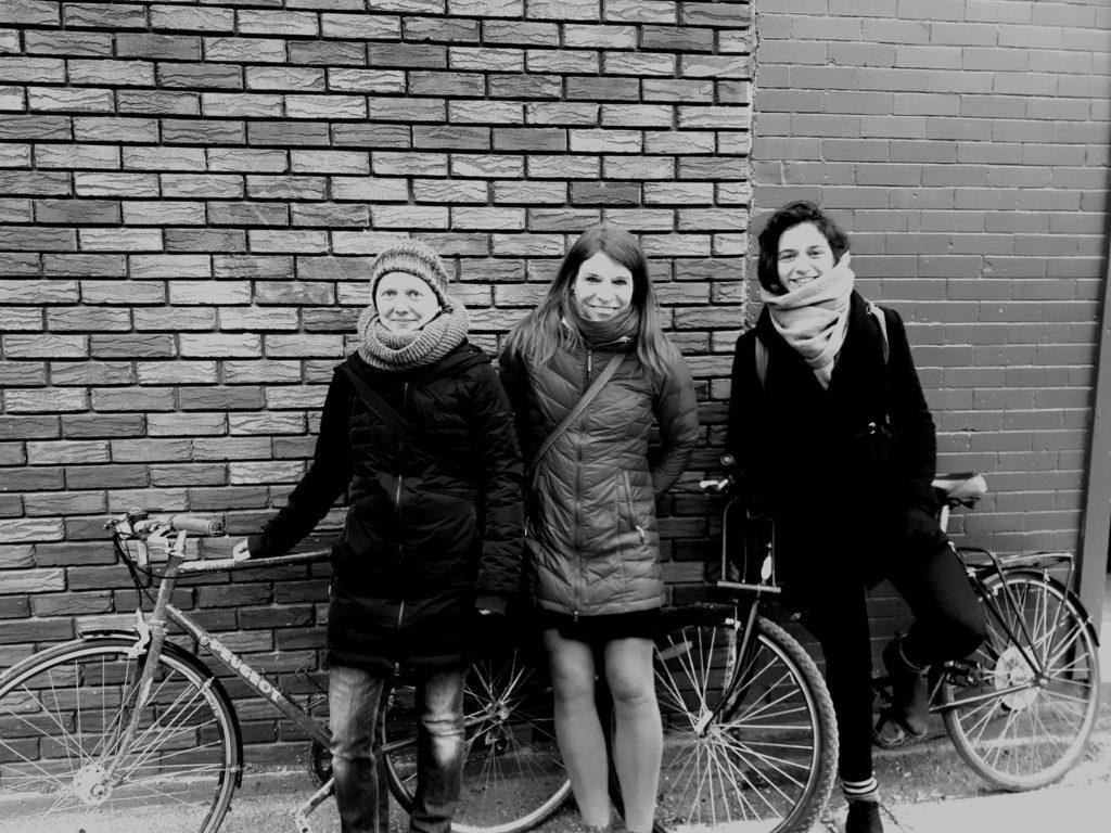 Laetitia, Marianne et Daisy